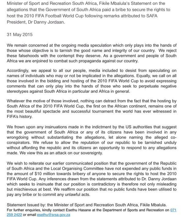 fm statement