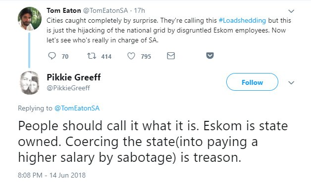 Cape Town Loadshedding 2018 | 6000 miles from civilisation